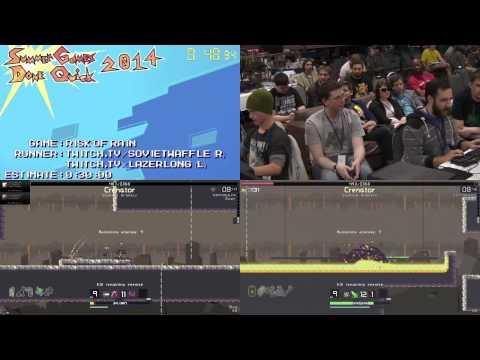 Risk Of Rain Race of Studio v Lazerlong in 24:50 - SGDQ2014 - Part 98