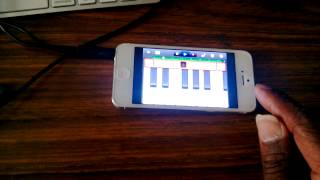 Garage Band Mobile Beat Making !! Filmed with Windows 8 1020 Phone ! @FeLLoNeY