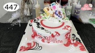 chocolate cake decorating bettercreme vanilla (447) Học Làm Bánh Kem Đơn Giản Đẹp - Hài Hòa (447)