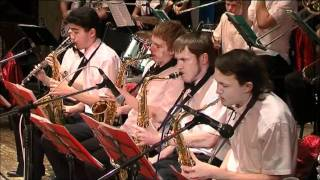 Jazz-orchestra NSTU - The Pink Panther Theme.wmv