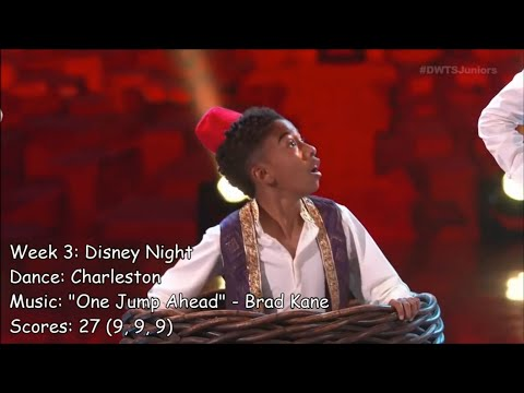 Miles Brown - All Dancing With The Stars: Juniors Performances