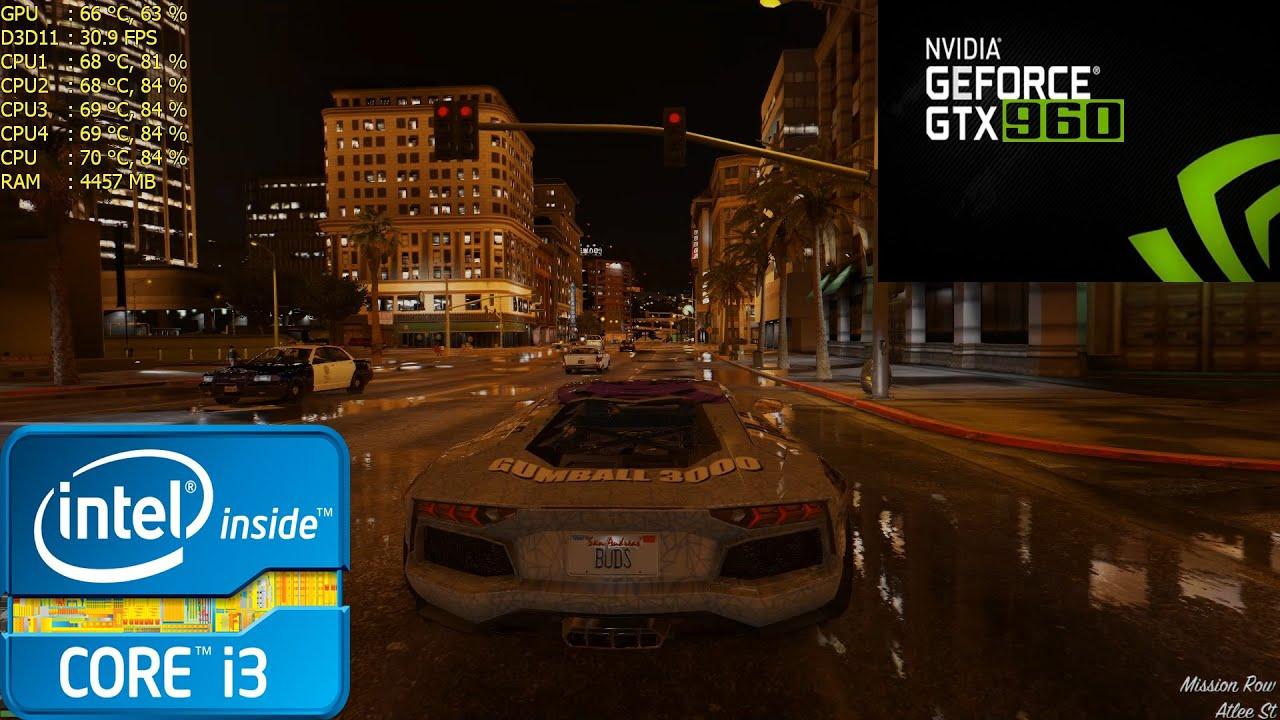 GTA V: NaturalVision Photorealistic 1 1 Gameplay i3 2100 - 6GB RAM - GTX  960 by AugustBuds