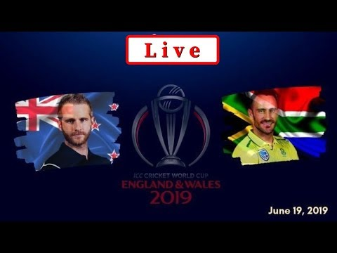 South Africa Vs New Zealand World Cup 2019 LIVE | NZ Vs SA | LIVE Score & Commentary