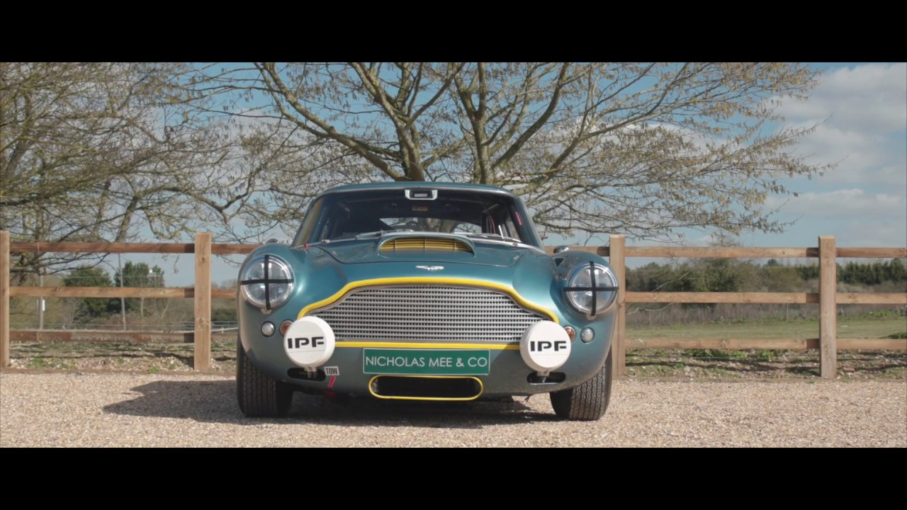 Aston Martin Db4 Race Car Nicholas Mee Co Ltd Aston Martin Specialists Youtube