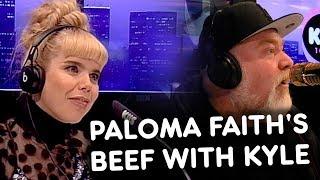 Paloma Faith's Beef With Kyle! KIIS1065, Kyle & Jackie O