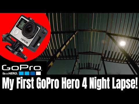 My First GoPro Hero 4 Night Lapse! - Stars Over Mountain View Ranch Pole Barn -  Our Ranch Life Vlog