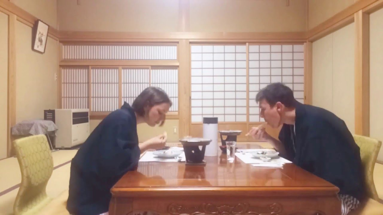 Traditional Japanese dining - YouTube