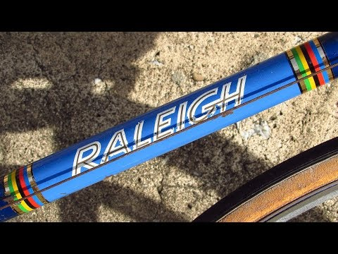 WHY are there LEATHER THINGS on the HUBS on this RALEIGH GRAND PRIX MIXTE?