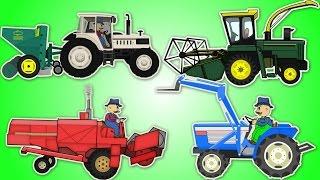 Farmer Compilation - One Hour !! | Rolnik Kompilacja - Godzina Bajek Dla Dzieci Traktory