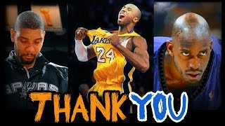 A Letter to the Legends (Tribute)- Kobe ,KG, Duncan!