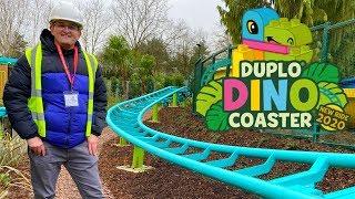LEGOLAND Windsor New For 2020! DUPLO Dino Coaster Construction Site Tour