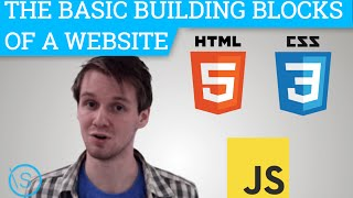 HTML, CSS, JS - The Basic Building Blocks of a Website