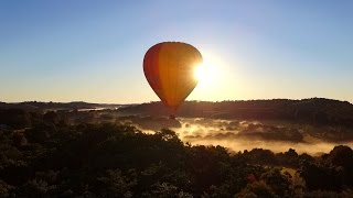 DJI Phantom 3 Standard - A Ride with the Hot Air Balloon