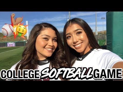 HOW I GET READY FOR MY COLLEGE SOFTBALL GAME! | Ronni Rae