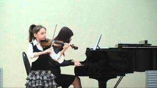 Делиция Ломбарди. Вивальди - Концерт соль мажор, 1 часть