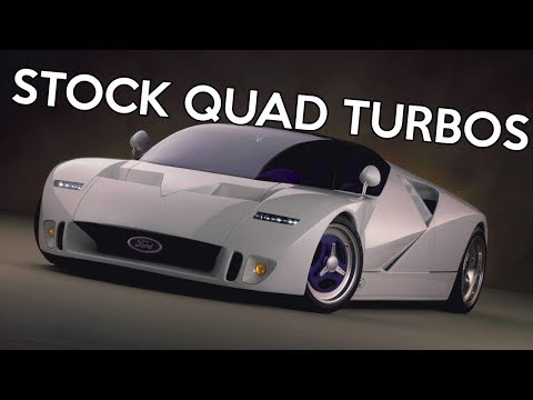 The Only 5 Stock Quad Turbo Engines Ever