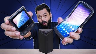 Motorola Razr 5G Unboxing And First Impressions⚡⚡⚡ Nostalgic Clamshell Foldable Phone...