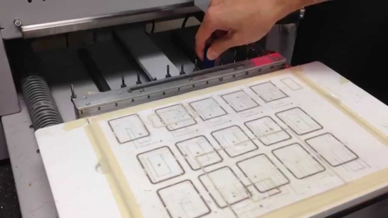 Lpkf Tool Change Youtube Circuit Board Milling Is Performed On Our Protomat S63