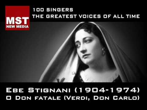 100 Greatest Singers: EBE STIGNANI