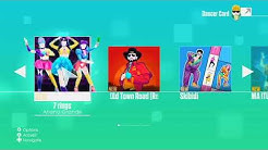 Just Dance 2020 Wii Menu