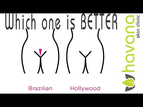 Laser Hair Removal   The Brazilian vs The Hollywood