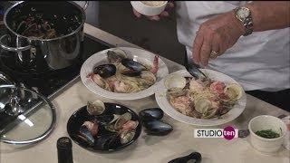 Studio 10: Chef Showdown, Linguine With Spicy Shellfish