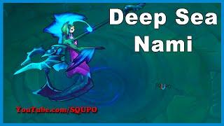 Deep Sea Nami Skin Spotlight (League of Legends)