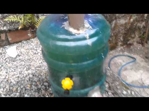 Gas natural biodigestor prototipo