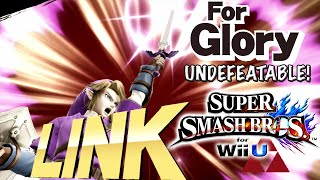 Bomb Sliding | Undefeatable! Link Ep.2 - Super Smash Bros for Wii U (For Glory)