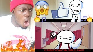 Life is Fun - Ft. Boyinaband (Official Music Video) by TheOdd1sOut REACTION!!!