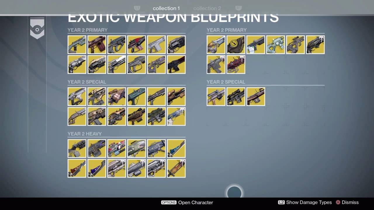 Every exotic weapon in destiny year 3 youtube malvernweather Image collections