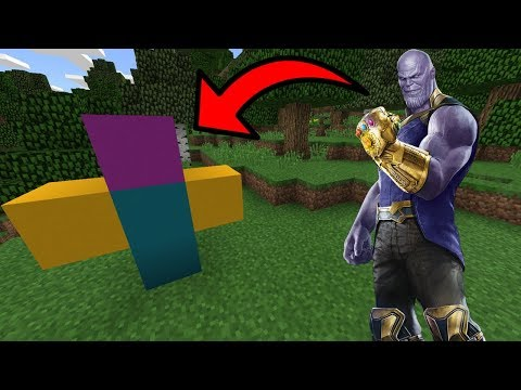 How To Spawn THANOS In Minecraft PE