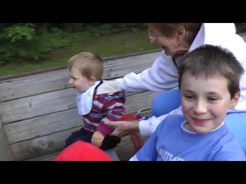 Babka v Amerike - Na chate v Cross Village