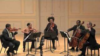 Schubert Quintet Mvt2-Part1 (Harlem Quartet on Stradivarius' & Carter Brey)