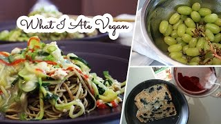 What I Ate In A Day VEGAN #26 // Bean Noodles
