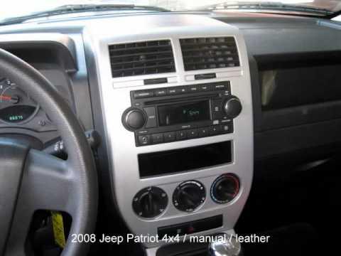2008 jeep patriot 4x4 suv youtube. Black Bedroom Furniture Sets. Home Design Ideas