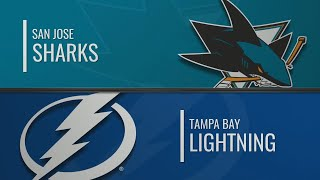сан-Хосе - Тампа-Бэй Лайтнинг  НХЛ обзор матчей 07.12.2019  San Jose Sharks vs Tampa Bay Lightning