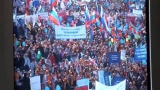 1 мая 2014 года. Демонстрация в Москве, на Красной площади - продолжение 3