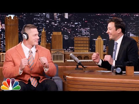 John Cena and Jimmy Totally Nail the Whisper Challenge