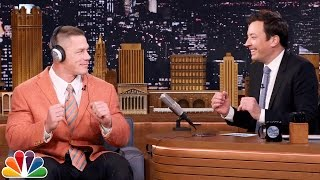 Repeat youtube video John Cena and Jimmy Totally Nail the Whisper Challenge