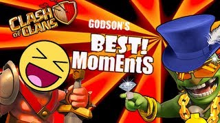 Clash of Clans- Godson's Best MomEntS!!