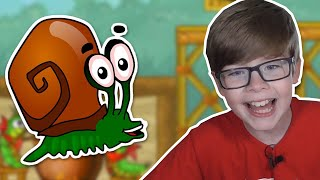 I'M A SNAIL CALLED BOB!! | Free Online Games for Kids