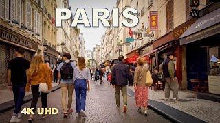 Paris Sunset walking Tour [4K]