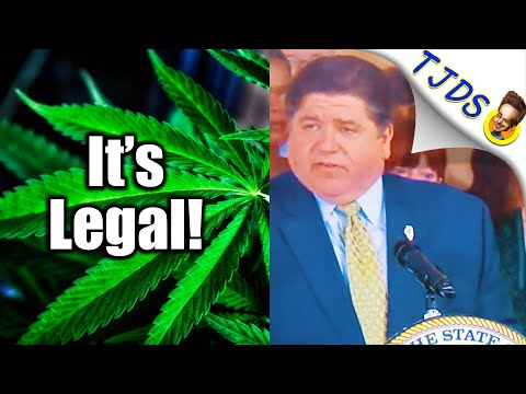 Illinois Legalizes Marijuana 100%