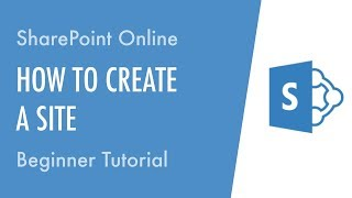 How to Create a Site in SharePoint Online - Beginner Tutorial