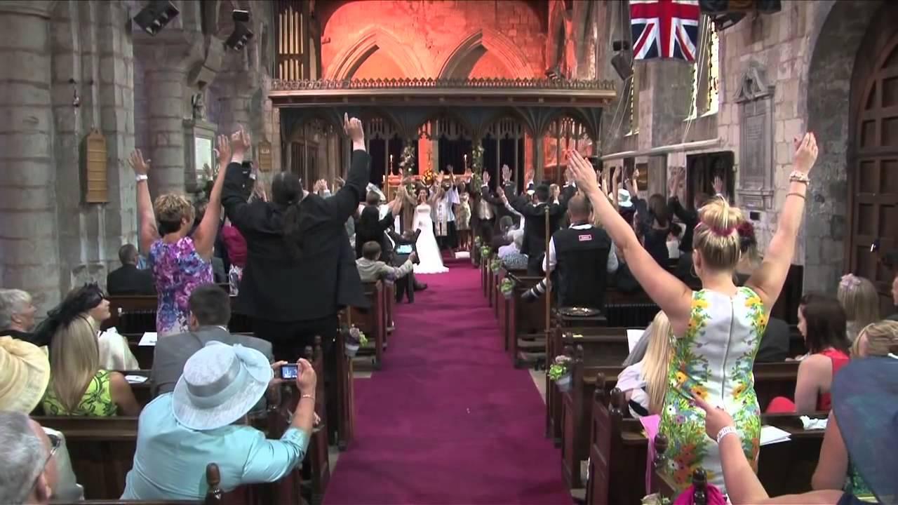 Αποτέλεσμα εικόνας για Gary and Tracy Richardson's Wedding Flash Mob 15/06/2013