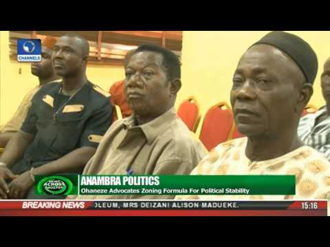 News Across Nigeria: Ohaneze Advocates Zoning Formula For Political Stability