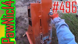 Remont śrutownika bijakowego (rozpoczęcie malowania) - Życie zwyczajnego rolnika #496