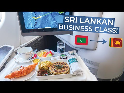TRIPREPORT | SriLankan Airlines (BUSINESS) | Airbus A330-300 | Male - Colombo
