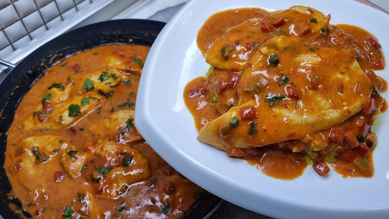 Download Fileta pule që Shkrihen me salcë unike - Dreka që ju kënaq me shije per vetëm 20 min